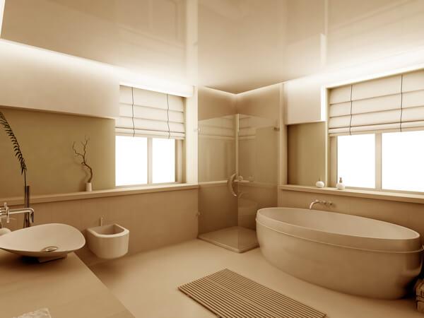 cortina cascade para banheiro