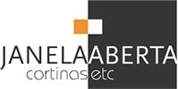 Janela Aberta Cortinas Logotipo